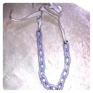 J. Crew lavender necklace